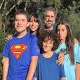 Marcos Mion comemorou primeira chamada do novo 'Caldeirão' com os filhos