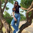 Larissa Bonesi mora na Índia e é estrela da Netflix no país