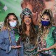 Mãe de Lexa, Darlin Ferrattry posou com Rafaella Santos e a filha