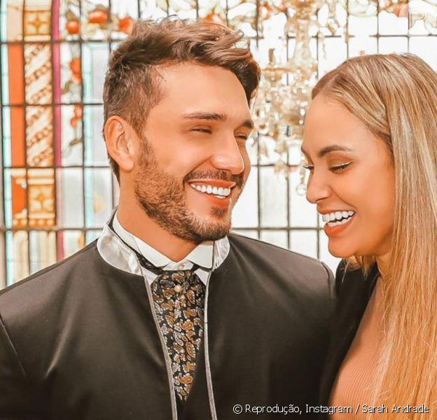 Sarah Andrade anuncia fim de namoro com Lucas Viana, em 5 de setembro de 2021
