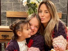 Filha caçula de Ticiane Pinheiro chama atenção por tamanho e semelhança com pai. Fotos!