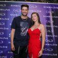 Munhoz, dupla de Mariano, também compareceu ao evento com a nova namorada, Alana Neto, com quem assumiu namoro após fim do casamento de 10 meses