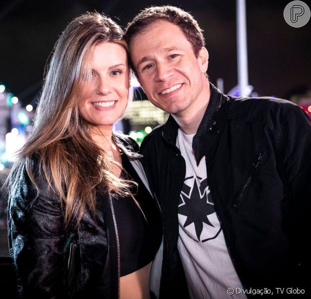 Daiana Garbin elogiou o marido, Tiago Leifert, em publicação no Instagram