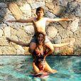 José Warcman tem 14 anos e é o único filho da atriz com Tiago