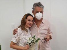 Chico Buarque se casa com Carol Proner e surpreende fãs: 'Que simplicidade'. Fotos!