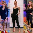 A apresentadora Ana Clara usa diferentes versões de looks pretos