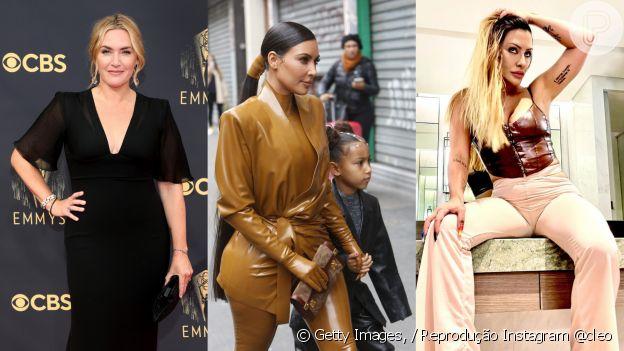 A moda de Librianas como Kate Winslet, Kim Kardashian e Cleo Pires