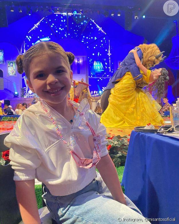 Filha de Mirella Santos, Valentina chamou atenção na web por tamanho
