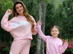 Mirella Santos mostra passeio com filha e tamanho de Valentina surpreende web: 'Enorme'