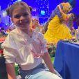 Valentina, filha Mirella Santos e Ceará, impressionou web por seu tamanho