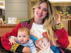 Virgínia Fonseca usa camisa com rosto da filha, Maria Alice, e admite: 'Somos bregas'