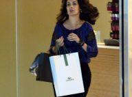 Fátima Bernardes tem dia de beleza em salão de shopping de luxo do Rio