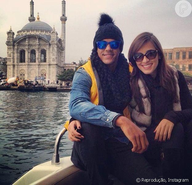 Marcello Melo Jr. curte férias na Turquia com a namorada, Caroline Alves