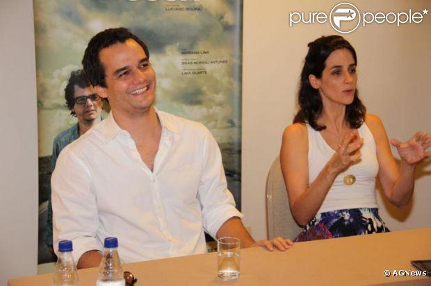 Wagner Moura e Mariana Lima falam sobre o novo filme 'A Busca'