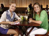 Fernanda Gentil grava 'Estrelas' no Rio e brinca: 'Angélica pagou meu suco'