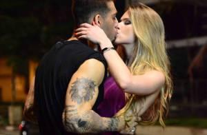 Lucas Lucco grava novo clipe em São Paulo e beija cinco mulheres