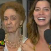 Avó de Nathalia Dill diz que Roberto Carlos não é galã: 'Gosto de homem bonito'