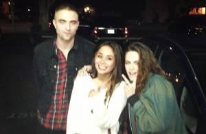 Kristen Stewart e Robert Pattinson são vistos juntos após rumores de separação