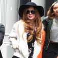Lindsay Lohan estava em cartaz com uma peça em Londres, na Inglaterra