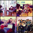 Paloma Bernardi e Felipe Titto compartilharam algumas fotos dos bastidores nas redes sociais