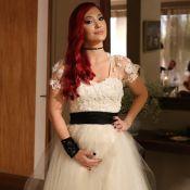 Josie Pessoa se veste de noiva para 'Império' e fala de filhos:'Lá pelos trinta'
