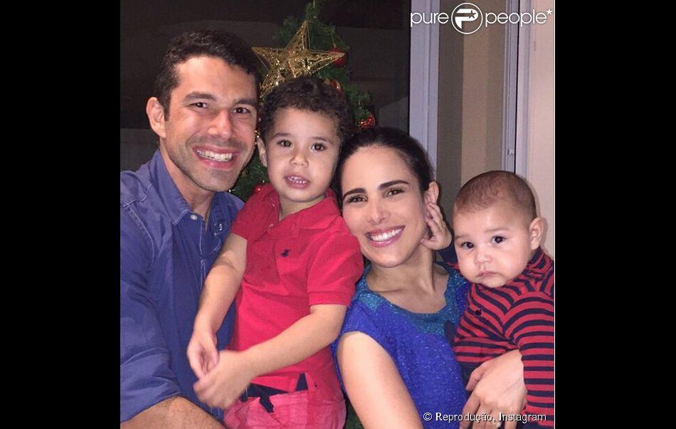 Photo of Wanessa Camargo & her Son  José Marcus Doutel de Camargo Buaiz