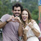Paolla Oliveira e Juliano Cazarré gravam cenas de 'Amor à Vida' em São Paulo