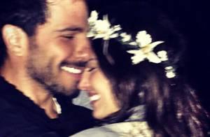 Isis Valverde posta foto no Instagram com mensagem romântica para o namorado