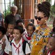 Beyoncé comemora 5 anos de casada com Jay-Z em Cuba, e é bastante assediada, em 4 de abril de 2013