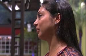 'BBB15': Amanda chora por causa de Fernando e tenta falar com mãe de santo