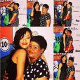'Ela é minha rocha. Por isso, a abraço forte', escreveu Rihanna, sobre a mãe