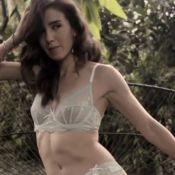 Marjorie Estiano posa sensual de lingerie e declara: 'Eu gosto de sexo'