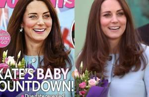 b86bd0ddef9c1 Kate Middleton é vítima de Photoshop exagerado em revista australiana.  Compare!