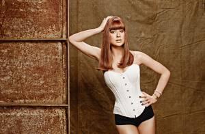 Marina Ruy Barbosa surge de franja e lingerie em ensaio sensual: 'Cresci'