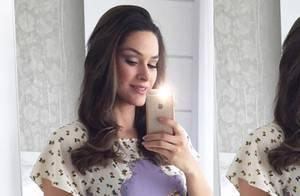 Fernanda Machado conta cuidados com o corpo na gravidez: 'Drenagem linfática'