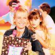 Desde pequena, Sasha acompanha a mãe, Xuxa, nos programas de TV