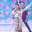 Preta Gil cantou seus sucessos no programa de Sabrina Sato