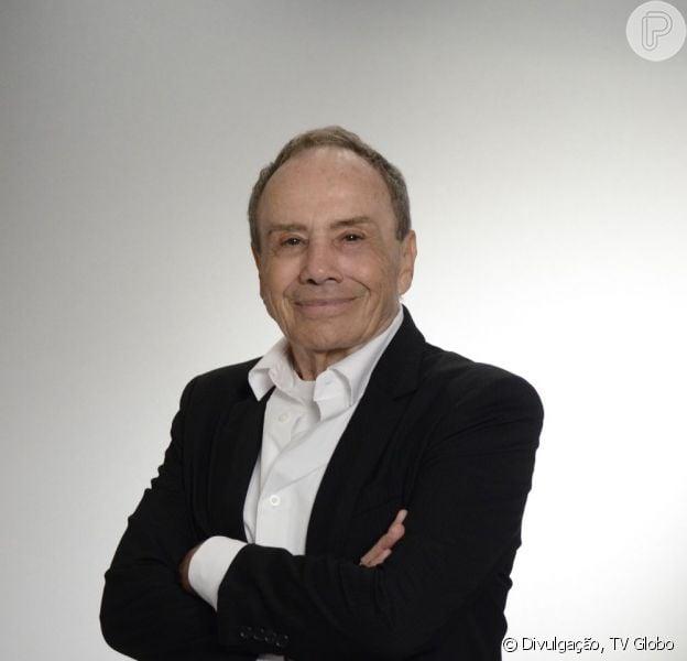 Stênio Garcia tem alta dos hospital, em 10 de abril de 2013