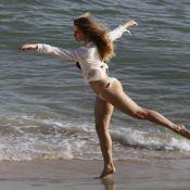 Prestes a completar 40 anos, Letícia Spiller posa sensual em ensaio de moda