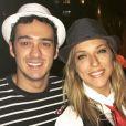 Marcos Veras e Júlia Rabello curtiram festa a fantasia