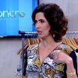 Fátima Bernardes cortou os cabelos e já usa look ondulado no programa 'Encontro'
