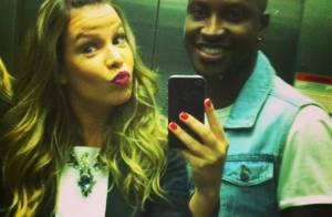Thiaguinho sobre casamento com Fernanda Souza: 'Só falta a data'