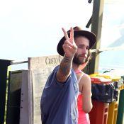 Affair de Selena Gomez, André Hamann chega ao Brasil e visita o Cristo Redentor