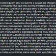 Anderson Silva falou da suspensão preventina do UFC através de sua conta no Instagram