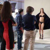 Malhação: Fatinha (Juliana Paiva) posa de lingerie para campanha de agência