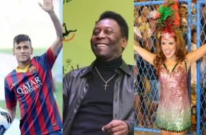 Carnaval 2016:Neymar e Pelé serão enredo e Paloma Bernardi, rainha da Grande Rio