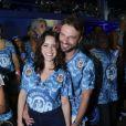 Fernanda Vasconcellos e Cássio Reis anunciaram a reconciliação em pleno Carnaval. O casal havia terminado o namoro de cerca de dois anos poucos dias antes da folia
