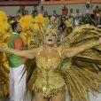 Já Susana Vieira, rainha da Grande Rio, deu mais uma de suas declarações polêmicas ao comemorar o desfile de sua escola: 'Eu não sou a rainha de bateria nem mais nova, nem mais gostosa e nem a mais rica, mas tirando a Viviane Araújo, que eu amo de paixão, eu sou a rainha mais famosa'