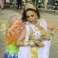 Maria Rita também passou mal após desfilar. A cantora foi um dos destaques da escola paulistana Vai-Vai, que se sagrou campeã do Carnaval depois de homenagear Elis Regina, mãe de Maria Rita, no enredo. Ela precisou ser carregada por uma ambulância