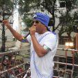Márcio Victor, vocalista da banda Psirico, precisou ser operado às pressas em pleno sábado de Carnaval, graças a uma crise de apêndice. No dia seguinte, ele já estava de volta à ativa e comandou um trio elétrico em Salvador